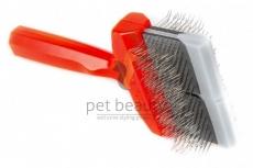 ActiVet Pro Mat Zapper Megabrush 9 cm rot | exklusive Bürsten für Hunde und Katzen