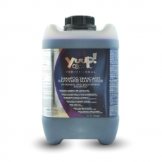 Aufhellendes Weißshampoo für helles Fell   5L   Yuup!-Professional