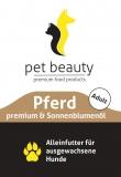 Pferd mit Kartoffeln und Distelöl | Nassfutter für Hunde | 400g