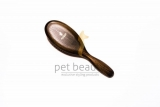 Hundebürste | PET BEAUTY PREMIUM NATUR | groß | exklusive Hundebürste