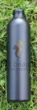 Kunststoffflasche | 200ml | schwarz| inklusive Klappdeckelverschluss