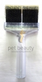 ActiVet Brush SOFT 9cm gold Flitter | exklusive Bürsten für Hunde und Katzen
