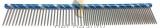 Pet Beauty Grooming Frisierkamm 19cm, 50/50 grob/fein gezahnt, blau