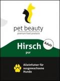 Hirsch mit Süßkartoffeln und Distelöl | Nassfutter für Hunde | 800g