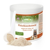 Per Naturam Fleischknochenmehl Rind und Schwein | optimiert die Calcium- und Phosphorversorgung | 500g