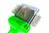 ActiVet Pro Mega Brush Weich 9 cm grün | exklusive Bürsten für Hunde und Katzen