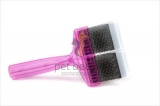 ActiVet Pro Mega Brush Stark 9 cm lila | exklusive Bürsten für Hunde und Katzen