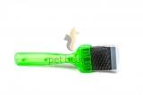 ActiVet Pro Brush Weich 4,5 cm grün | exklusive Bürsten für Hunde und Katzen
