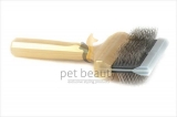 ActiVet Mega Brush Supersoft Coat Grabber 9 cm gold | exklusive Bürsten für Hunde und Katzen