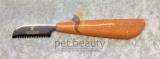 Trim-Messer Plastikgriff orange