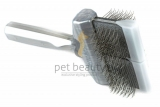 ActiVet Mega Brush Stark Coat Grabber 9 cm silber | exklusive Bürsten für Hunde und Katzen