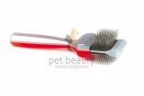 ActiVet Pro UnderCoater 4,5 cm rot/silber | exklusive Bürsten für Hunde und Katzen