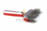 AcitVet Pro UnterCoater MEGA 9 cm rot/silber | exklusive Bürsten für Hunde und Katzen